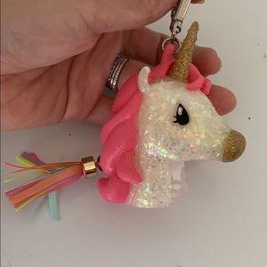 Pink Unicorn BBW Hand Sanitizer Holder